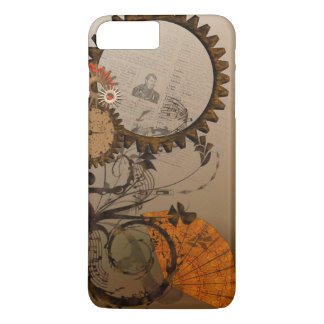 Steampunk Gears iPhone Case in Browns and Beiges