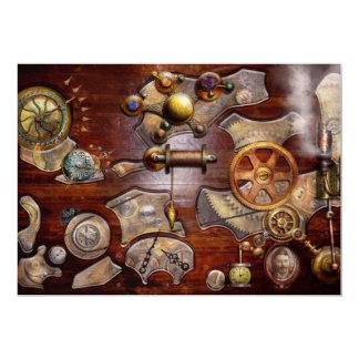Steampunk - Gears - Reverse engineering Custom Invite