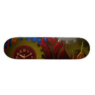 Steampunk Gears Skateboard