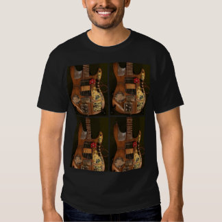 Steampunk Guitar Tee Shirt