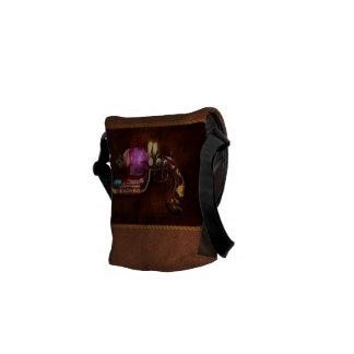 Steampunk - Gun -The neuralizer Courier Bags