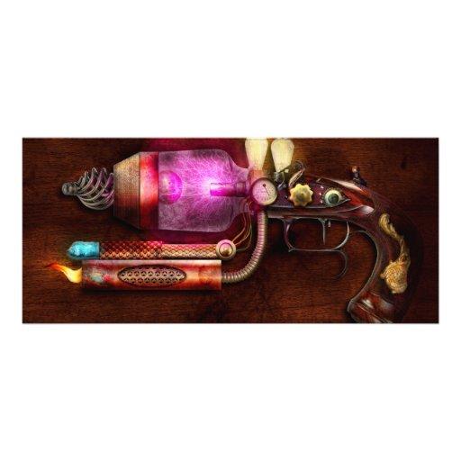Steampunk - Gun -The neuralizer Custom Rack Cards