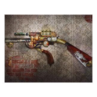 Steampunk - Gun - The sidearm 21.5 Cm X 28 Cm Flyer