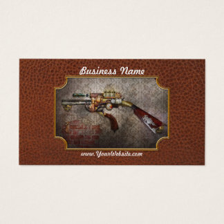 Steampunk - Gun - The sidearm Business Card
