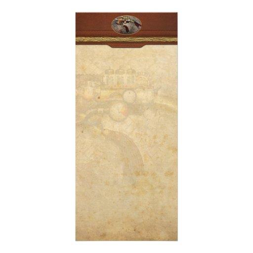 Steampunk - Gun - The sidearm Rack Cards