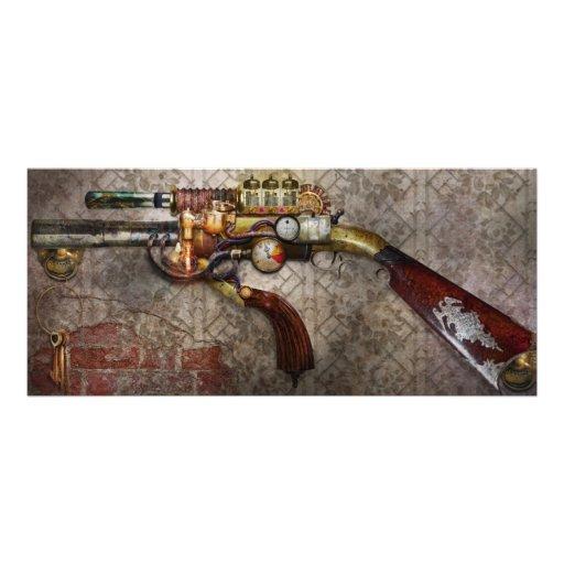 Steampunk - Gun - The sidearm Custom Rack Card