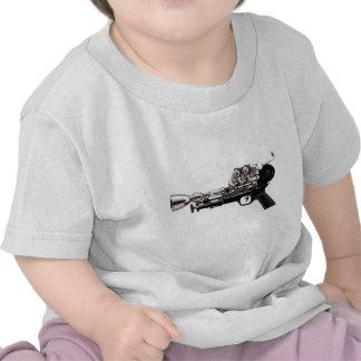 Steampunk Gun Tee Shirts