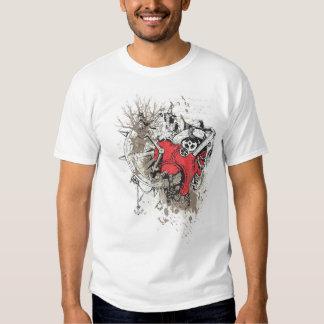 steampunk heart tshirt