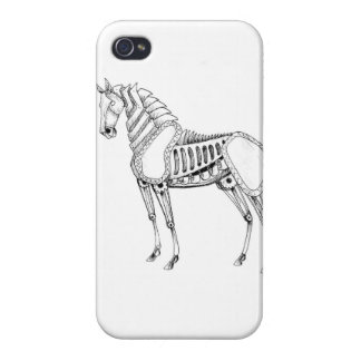 Steampunk Horse iPhone case iPhone 4/4S Covers