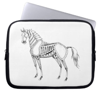 Steampunk Horse Laptop Case