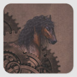 Steampunk Horse Stickers
