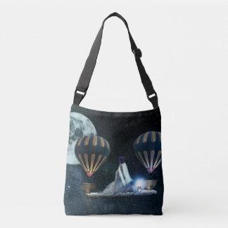Steampunk hot air balloon art bag