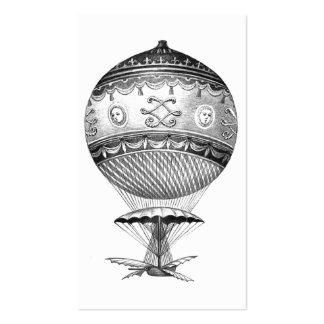 Steampunk Hot Air Balloon Business Card Templates