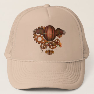 Steampunk Hot Air Balloon Trucker Hat