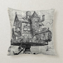 Steampunk house cushion