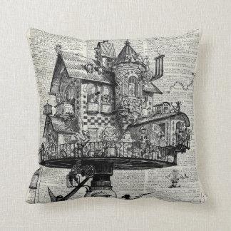 Steampunk house cushion