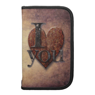 Steampunk I Love You Valentine Planners