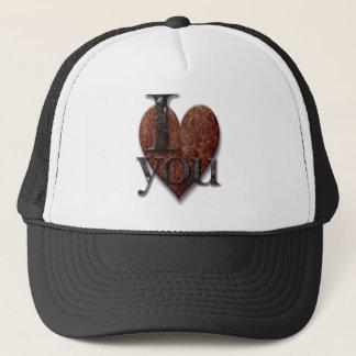 Steampunk I Love You Valentine Trucker Hat