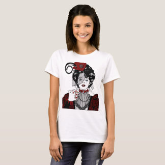 Steampunk Illustration Victorian Lady shirt