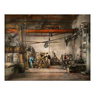 Steampunk - In an old clock shop 1866 21.5 Cm X 28 Cm Flyer