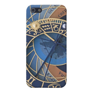 Steampunk in Blue Astronomical Clock iPhone 5/5S Cover