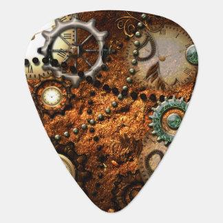 Steampunk in noble design guitar pick