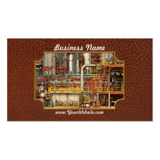 Steampunk - Industrial illusion Pack Of Standard Business Cards