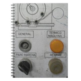 Steampunk Industrial Note Books