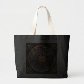 Steampunk - Information overload Jumbo Tote Bag