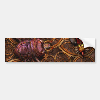 Steampunk - Insect - Itsy bitsy spiders Bumper Stickers