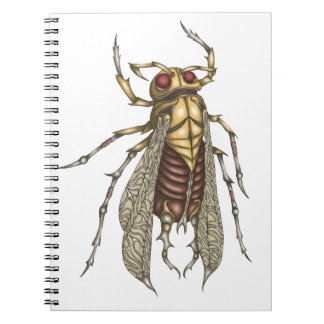 Steampunk Insect Notebooks