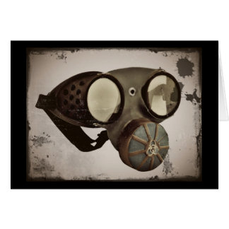 Steampunk Inspired Goggles Card