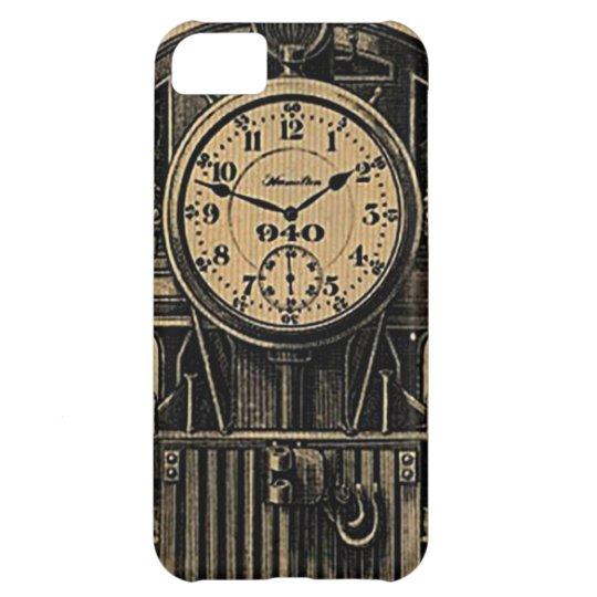 Steampunk inspired vintage watch case
