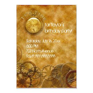 Steampunk Invitation