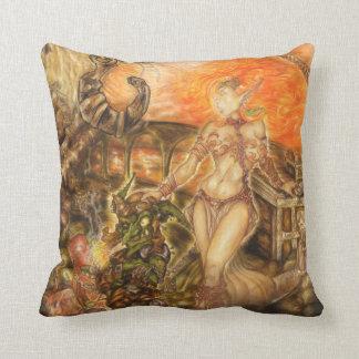 Steampunk Journey Cushion
