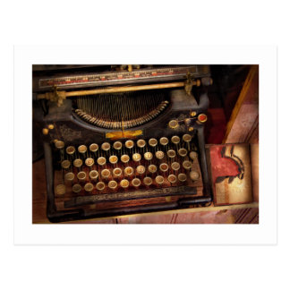 Steampunk - Just an ordinary typewriter Postcard