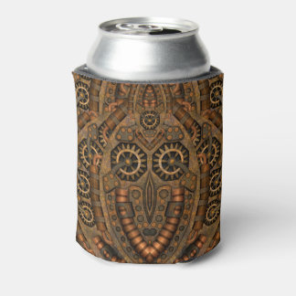 Steampunk Kaleidoscope Can Cooler