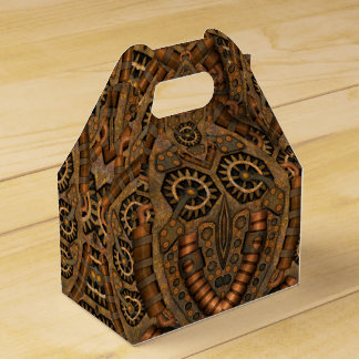 Steampunk Kaleidoscope  Gable Favor Box