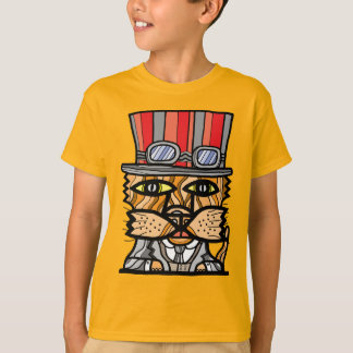 """SteamPunk"" Kids' Hanes TAGLESS® T-Shirt"