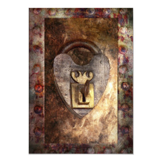 Steampunk - Locksmith - The key to my heart Card