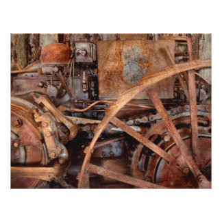 Steampunk - Machine - The industrial age Full Color Flyer