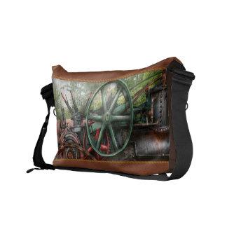 Steampunk - Machine - Transportation of the future Messenger Bag