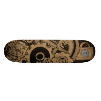 Steampunk Machinery (Brassy) 20 Cm Skateboard Deck