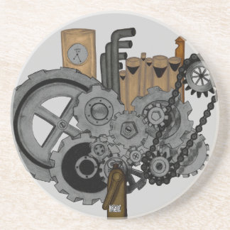 Steampunk Machinery Coaster