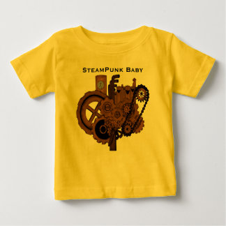 Steampunk Machinery (Copper) Baby T-Shirt