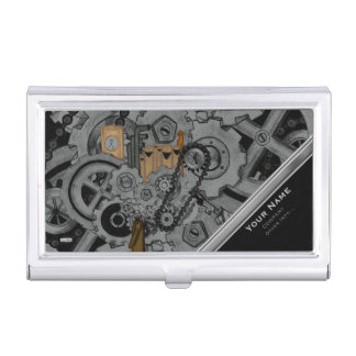 Steampunk Machinery (Full Colour) Business Card Holder