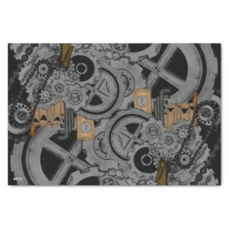 Steampunk Machinery (Full Colour) Tissue Paper