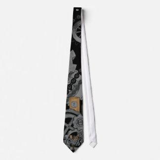 Steampunk Machinery Tie