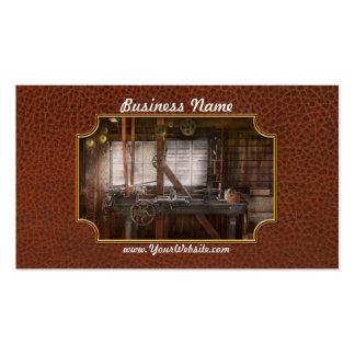 Steampunk - Machinist - My tinkering workshop Business Card