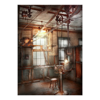 Steampunk - Machinist - The grinding station Invitations